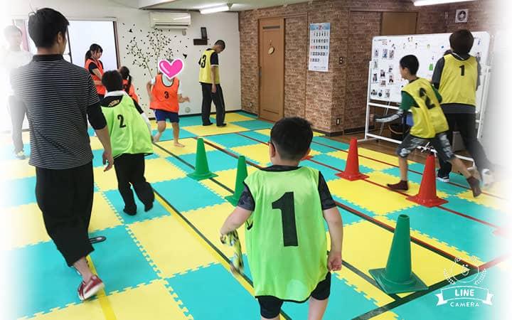 写真:子どもたちのトレーニングの様子